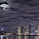 Night Sky buildings