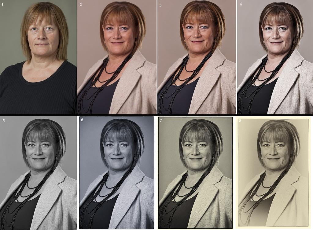 Portræt samlininger