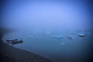 Island - Jökulsárlón (Floating Icebergs)