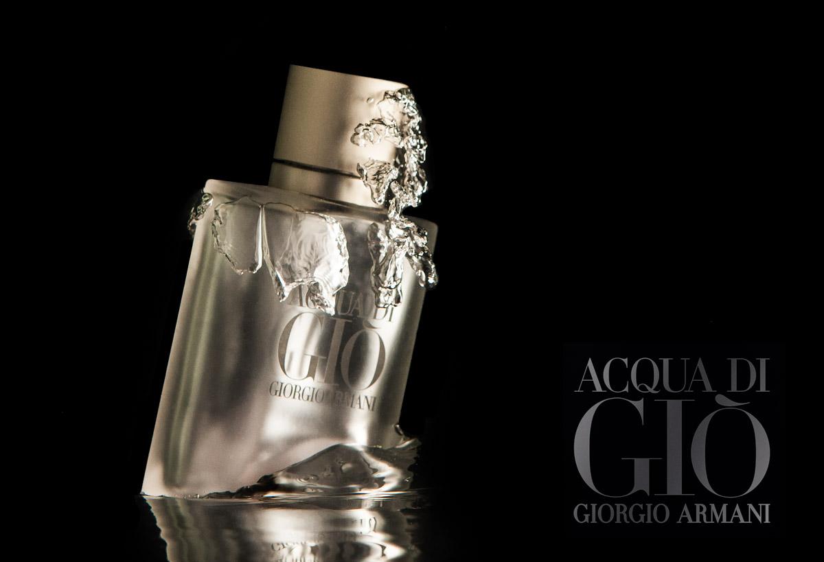 Eksklusiv produktbillede af parfume.