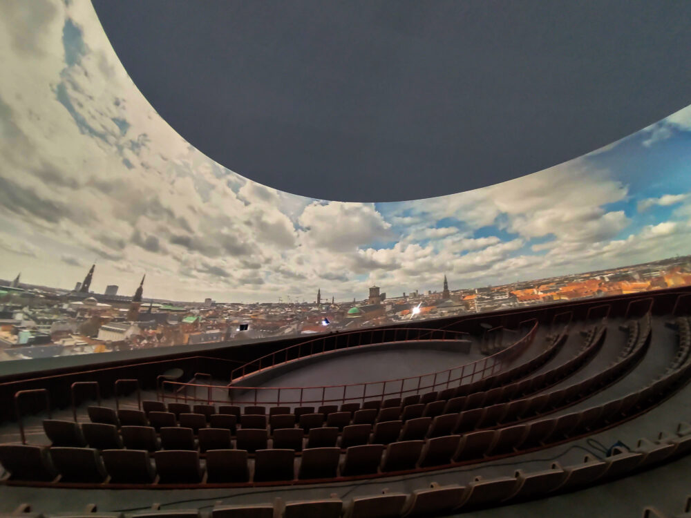 Planetariets 360 graders fulldome.